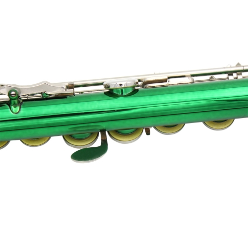 estern Concert Flute Cupronickel Plated Silver 16 Holes C Key Woodwind Instrument with Cork Grease Cleaning Cloth Stick Gloves MinToys &amp; Hobbies<br>estern Concert Flute Cupronickel Plated Silver 16 Holes C Key Woodwind Instrument with Cork Grease Cleaning Cloth Stick Gloves Min<br>