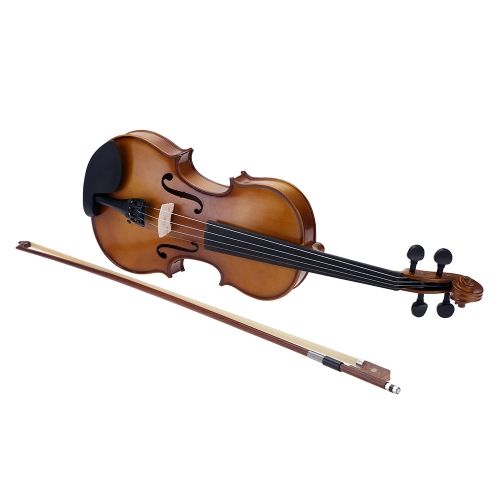 4/4 Full Size Violin Fiddle Basswood Steel String Stringed Musical Instrument for Kids Beginners Circle Style BowToys &amp; Hobbies<br>4/4 Full Size Violin Fiddle Basswood Steel String Stringed Musical Instrument for Kids Beginners Circle Style Bow<br>
