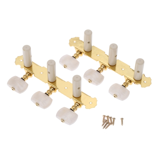 Alice AOS-020B1P 2pcs(Left + right) Classical Guitar Tuning Key Plated Peg Tuner Machine Head String TunerToys &amp; Hobbies<br>Alice AOS-020B1P 2pcs(Left + right) Classical Guitar Tuning Key Plated Peg Tuner Machine Head String Tuner<br>