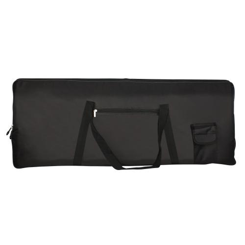 ポータブル76鍵のキーボードエレクトリックピアノのパッド付きギグバッグオックスフォード布