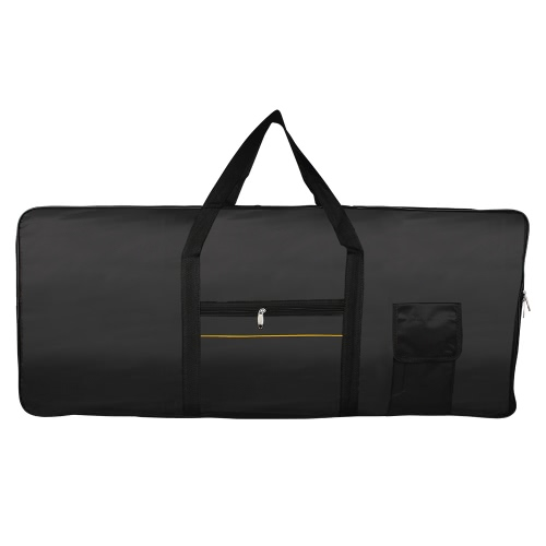 Portable 61-Key Keyboard Electric Piano Padded Case Gig Bag Oxford ClothToys &amp; Hobbies<br>Portable 61-Key Keyboard Electric Piano Padded Case Gig Bag Oxford Cloth<br>