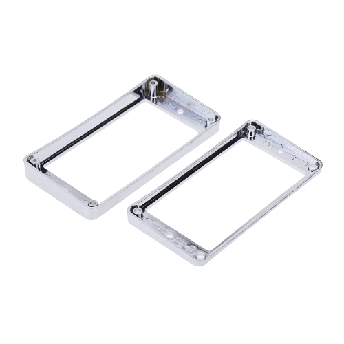 Chrome-Plated Plastic Guitar Pickup Frame Mounting Ring for LP Guitar SilverToys &amp; Hobbies<br>Chrome-Plated Plastic Guitar Pickup Frame Mounting Ring for LP Guitar Silver<br>