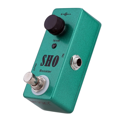 SHO Booster Electric Guitar Effect Pedal Mini Single Effect with Clean Boost True BypassToys &amp; Hobbies<br>SHO Booster Electric Guitar Effect Pedal Mini Single Effect with Clean Boost True Bypass<br>