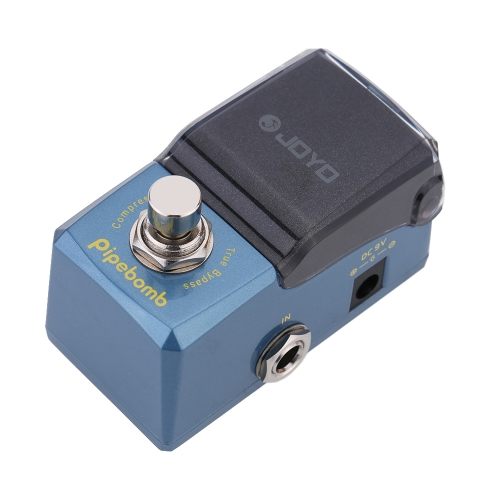 JOYO JF-312 Pipebomb Compressor Mini Electric Guitar Effect Pedal with Knob Guard True BypassToys &amp; Hobbies<br>JOYO JF-312 Pipebomb Compressor Mini Electric Guitar Effect Pedal with Knob Guard True Bypass<br>