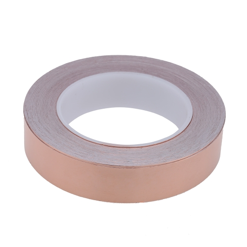 25mm * 30m One Side Copper Foil Tape EMI Shielding Single Conductive Adhesive for GuitarToys &amp; Hobbies<br>25mm * 30m One Side Copper Foil Tape EMI Shielding Single Conductive Adhesive for Guitar<br>