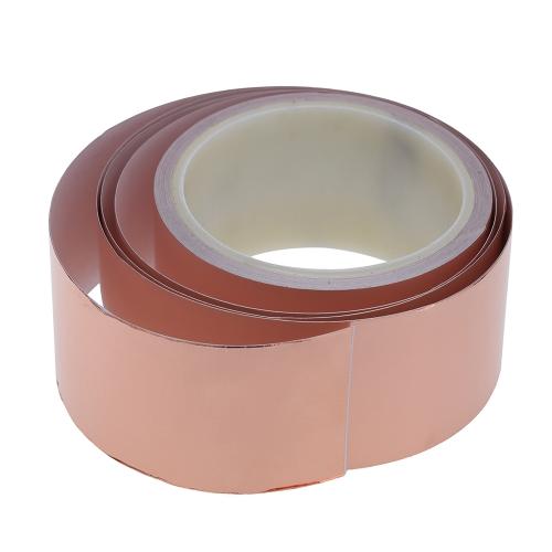 50mm * 10m One Side Copper Foil Tape EMI Shielding Single Conductive Adhesive for GuitarToys &amp; Hobbies<br>50mm * 10m One Side Copper Foil Tape EMI Shielding Single Conductive Adhesive for Guitar<br>