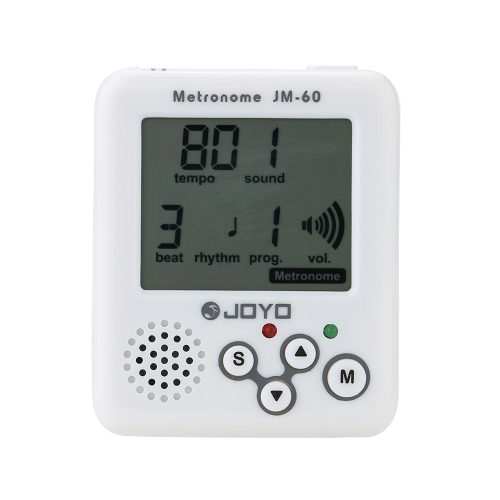 JOYO JM-60 Mini Portable Rechargeable Clip-on Electronic Digital Metronome Tone Generator Tuner for Guitar Violin Ukulele Beat TemToys &amp; Hobbies<br>JOYO JM-60 Mini Portable Rechargeable Clip-on Electronic Digital Metronome Tone Generator Tuner for Guitar Violin Ukulele Beat Tem<br>