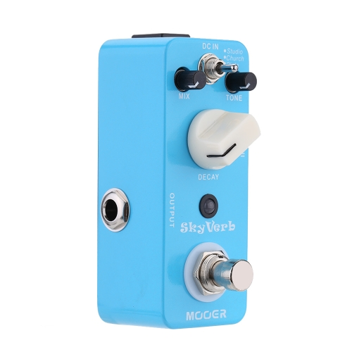 Mooer Sky Verb Micro Mini Reverb Effect Pedal for Electric Guitar True BypassToys &amp; Hobbies<br>Mooer Sky Verb Micro Mini Reverb Effect Pedal for Electric Guitar True Bypass<br>