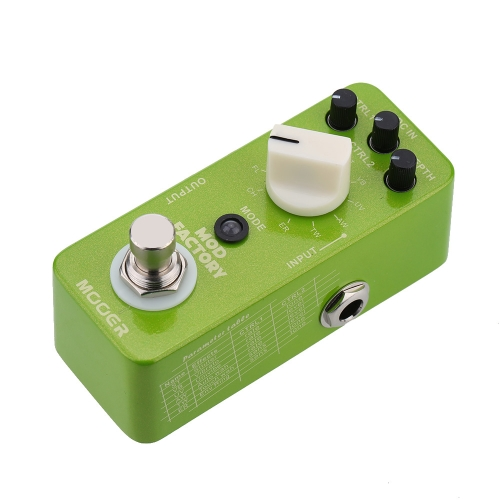 Mooer Mod Factory Micro Mini Electric Guitar Modulation Effect Pedal True BypassToys &amp; Hobbies<br>Mooer Mod Factory Micro Mini Electric Guitar Modulation Effect Pedal True Bypass<br>