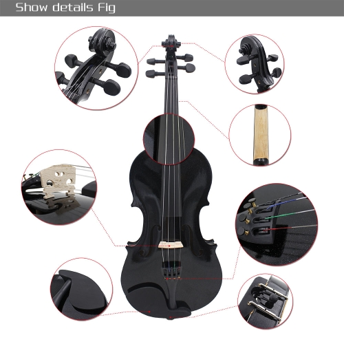 4/4 Violin Fiddle Basswood Steel String Arbor Bow Stringed Instrument for Music Lovers BeginnersToys &amp; Hobbies<br>4/4 Violin Fiddle Basswood Steel String Arbor Bow Stringed Instrument for Music Lovers Beginners<br>