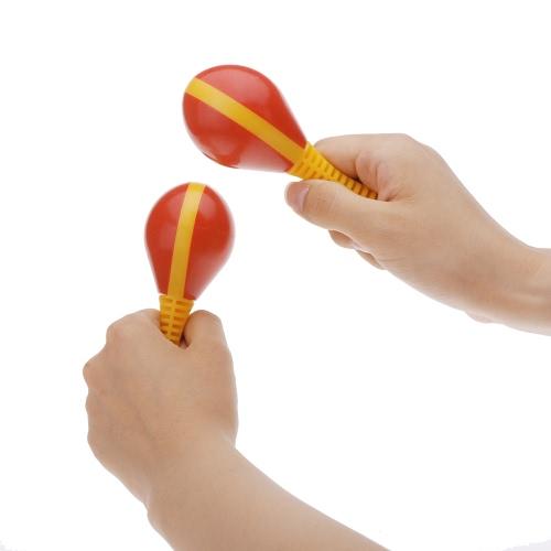 Ovo plástico Maraca Musical precoce ritmo educacional brinquedo ferramenta para bebé criança criança