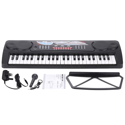 49 Keys Multi-Function Toy-Type Electronic Keyboard Electronic Piano Organ with Music Stand &amp; MicrophoneToys &amp; Hobbies<br>49 Keys Multi-Function Toy-Type Electronic Keyboard Electronic Piano Organ with Music Stand &amp; Microphone<br>