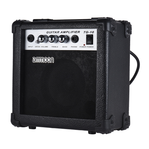 ammoon Portable 10 Watt Guitar Amp Amplifier 5 Inch Speaker for Acoustic/ Electric Guitar Ukulele High-Sensitivity Volume Tone ConToys &amp; Hobbies<br>ammoon Portable 10 Watt Guitar Amp Amplifier 5 Inch Speaker for Acoustic/ Electric Guitar Ukulele High-Sensitivity Volume Tone Con<br>