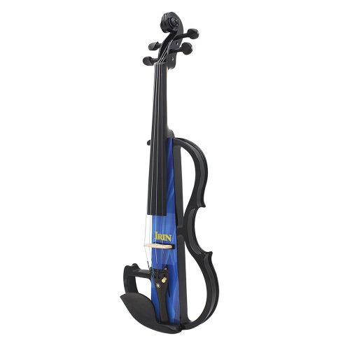 Full Size 4/4 Electric Violin Fiddle Maple Wood Stringed Instrument Ebony Fretboard Chin Rest with 1/4 Connecting Cable EarphoneToys &amp; Hobbies<br>Full Size 4/4 Electric Violin Fiddle Maple Wood Stringed Instrument Ebony Fretboard Chin Rest with 1/4 Connecting Cable Earphone<br>