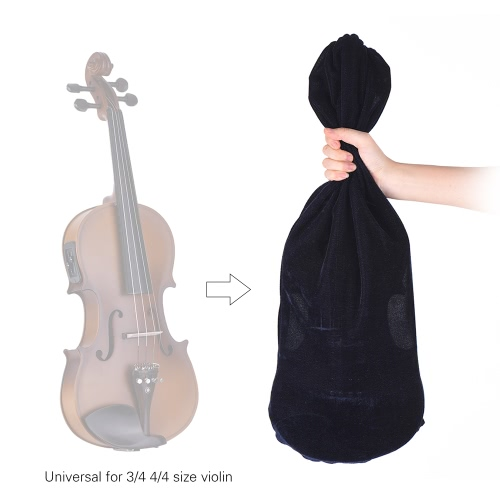 High Quality Satin Fabric Bag Blanket for 3/4 4/4 Full Size Violin Fiddle Elegant BurgundyToys &amp; Hobbies<br>High Quality Satin Fabric Bag Blanket for 3/4 4/4 Full Size Violin Fiddle Elegant Burgundy<br>