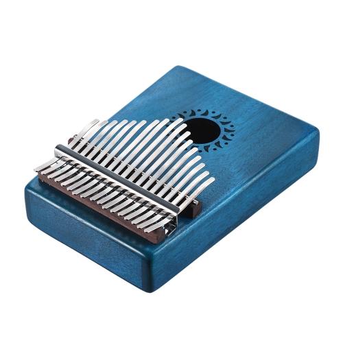 Portable 17 Key Kalimba Mbira Pocket Thumb