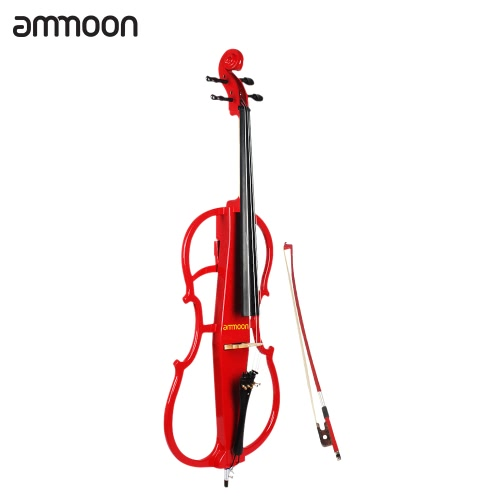 ammoon 4/4 Full Size Solid Wood Electric CelloToys &amp; Hobbies<br>ammoon 4/4 Full Size Solid Wood Electric Cello<br>