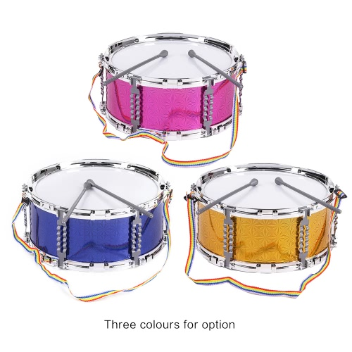 Colorful Jazz Snare Drum Musical Toy Percussion Instrument with Drum Sticks Strap for Children KidsToys &amp; Hobbies<br>Colorful Jazz Snare Drum Musical Toy Percussion Instrument with Drum Sticks Strap for Children Kids<br>