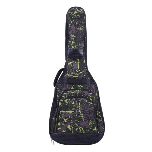 42 Acoustic Folk Classical Guitar Bag Case Backpack Adjustable Shoulder Strap 600D Cloth Multiple Pocket Camouflage GreenToys &amp; Hobbies<br>42 Acoustic Folk Classical Guitar Bag Case Backpack Adjustable Shoulder Strap 600D Cloth Multiple Pocket Camouflage Green<br>