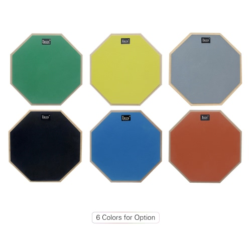 12-Inch Silent Drum Practice Pad High Elastic Rubber Playing Surface for TrainingToys &amp; Hobbies<br>12-Inch Silent Drum Practice Pad High Elastic Rubber Playing Surface for Training<br>