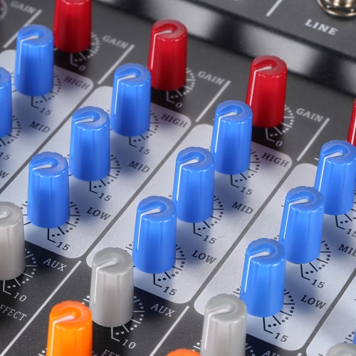ammoon 120S-USB 12 Channels Mic Line Audio Mixer Mixing Console USB XLR Input 3-band EQ 48V Phantom Power with Power AdapterToys &amp; Hobbies<br>ammoon 120S-USB 12 Channels Mic Line Audio Mixer Mixing Console USB XLR Input 3-band EQ 48V Phantom Power with Power Adapter<br>