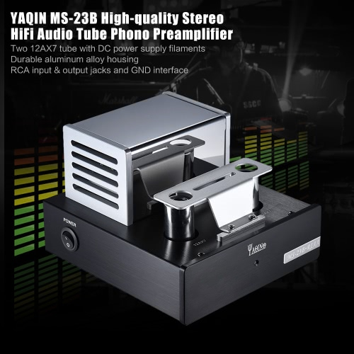 YAQIN MS-23B Tube Phono Preamplifier Stage MM RIAA Phonograph Pre-amp Stereo HiFi Audio Amplifier AmpToys &amp; Hobbies<br>YAQIN MS-23B Tube Phono Preamplifier Stage MM RIAA Phonograph Pre-amp Stereo HiFi Audio Amplifier Amp<br>