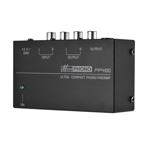 Ultra-compact Phono Preamp Preamplifier with RCA 1/4 TRS InterfacesToys &amp; Hobbies<br>Ultra-compact Phono Preamp Preamplifier with RCA 1/4 TRS Interfaces<br>