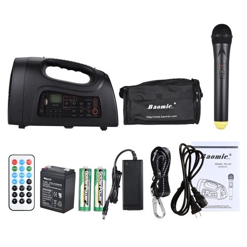 Baomic PA-101 Portable Multifunctional Amplifier Voice SpeakerToys &amp; Hobbies<br>Baomic PA-101 Portable Multifunctional Amplifier Voice Speaker<br>