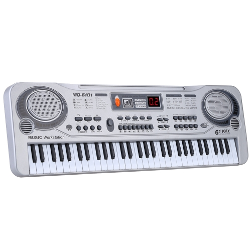 21 61 Keys LED Electronic Keyboard Music Toy with Microphone Educational Electone Christmas Gift for Children KidsToys &amp; Hobbies<br>21 61 Keys LED Electronic Keyboard Music Toy with Microphone Educational Electone Christmas Gift for Children Kids<br>