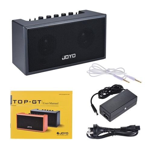 JOYO TOP-GT Mini Bluetooth 4.0 Guitar Amplifier Amp Speaker 2 * 4W with Built-in Rechargeable Lithium Battery for iPhone iPad iOSComputer &amp; Stationery<br>JOYO TOP-GT Mini Bluetooth 4.0 Guitar Amplifier Amp Speaker 2 * 4W with Built-in Rechargeable Lithium Battery for iPhone iPad iOS<br>