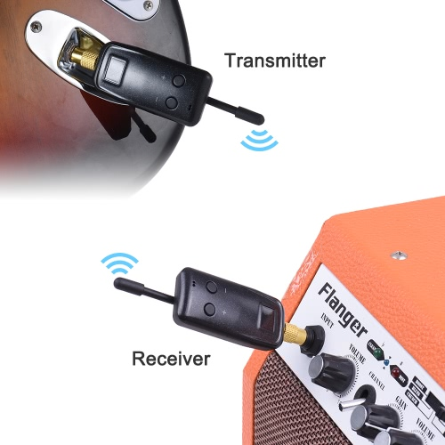 Professional UHF Wireless Audio Digital Transmitter Receiver System for Electric Guitar Bass Violin Musical Instrument Parts KitToys &amp; Hobbies<br>Professional UHF Wireless Audio Digital Transmitter Receiver System for Electric Guitar Bass Violin Musical Instrument Parts Kit<br>