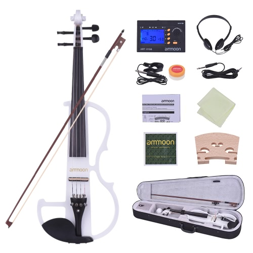 ammoon Full Size 4/4 Solid Wood Electric Silent ViolinToys &amp; Hobbies<br>ammoon Full Size 4/4 Solid Wood Electric Silent Violin<br>