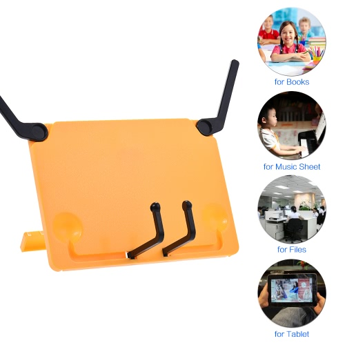 Portable Foldable Music Score Sheet Stand Holder Support Bookend Bookstand Bookholder Reading Frame for iPad Laptop Tablature CookToys &amp; Hobbies<br>Portable Foldable Music Score Sheet Stand Holder Support Bookend Bookstand Bookholder Reading Frame for iPad Laptop Tablature Cook<br>