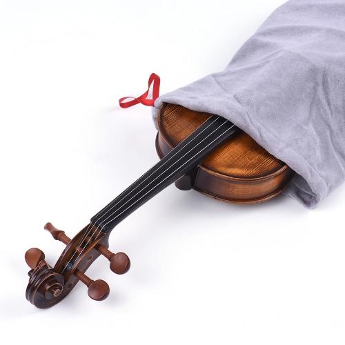 High Quality Satin Fabric Bag Blanket for 3/4 4/4 Full Size Violin Fiddle Elegant BurgundyToys &amp; Hobbies<br>High Quality Satin Fabric Bag Blanket for 3/4 4/4 Full Size Violin Fiddle Elegant Burgundy<br>