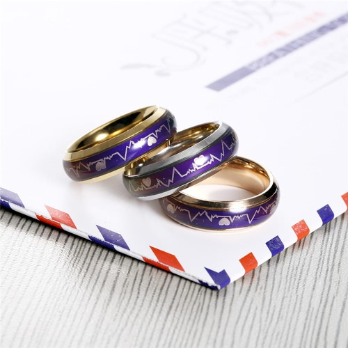 European Vintage Creative Emotion Mood Ring Color Changing Personality Ring For Men Women Couples Lovers Party GiftApparel &amp; Jewelry<br>European Vintage Creative Emotion Mood Ring Color Changing Personality Ring For Men Women Couples Lovers Party Gift<br>