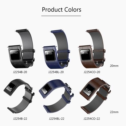 H1 Luxury Genuine Leather 22mm Watch BandApparel &amp; Jewelry<br>H1 Luxury Genuine Leather 22mm Watch Band<br>
