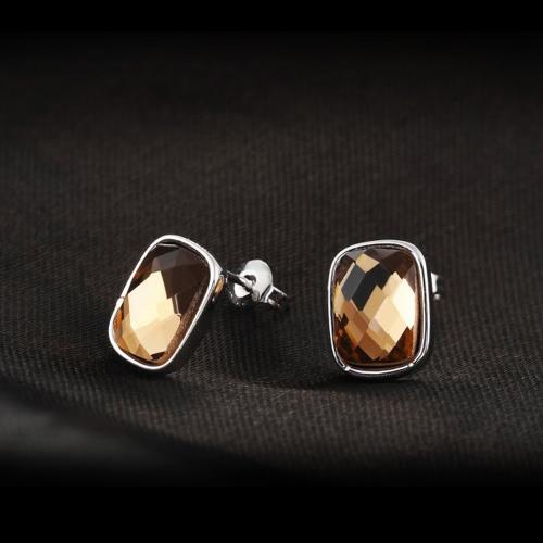 ROXI Fashion CZ Diamond Geometric Square Stud Earring White Gold Plated Wedding Party Jewelry for Women GirlApparel &amp; Jewelry<br>ROXI Fashion CZ Diamond Geometric Square Stud Earring White Gold Plated Wedding Party Jewelry for Women Girl<br>
