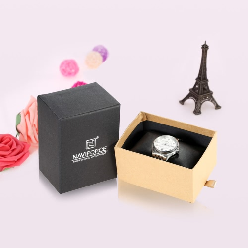 Naviforce High Quality Beautiful Slide-drawer Watch Case Elegant Gift Box Multifunctional Storage BoxApparel &amp; Jewelry<br>Naviforce High Quality Beautiful Slide-drawer Watch Case Elegant Gift Box Multifunctional Storage Box<br>
