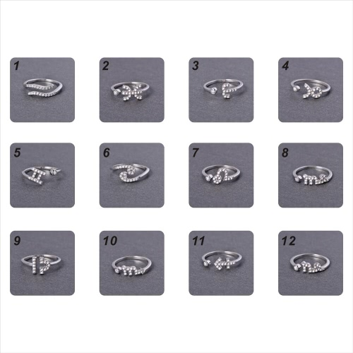 Fashion 925 Sterling Silver 12 Star Constellation Adjustable Open Women's' RingApparel &amp; Jewelry<br>Fashion 925 Sterling Silver 12 Star Constellation Adjustable Open Women's' Ring<br>