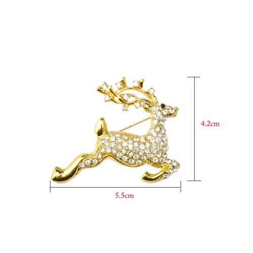 New Fashion Shining Rhinestone Crystal Brooch Collar Clip Pin Clothes Accessory Jewelry Scarf Buckle for Holiday Party Gift ChristApparel &amp; Jewelry<br>New Fashion Shining Rhinestone Crystal Brooch Collar Clip Pin Clothes Accessory Jewelry Scarf Buckle for Holiday Party Gift Christ<br>