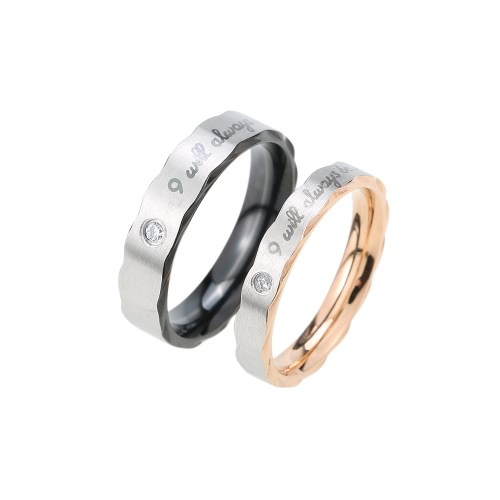 Fashion Titanium Stainless Steel Jewelry Promise Blessing Women Men Wedding Lovers Couple RingApparel &amp; Jewelry<br>Fashion Titanium Stainless Steel Jewelry Promise Blessing Women Men Wedding Lovers Couple Ring<br>