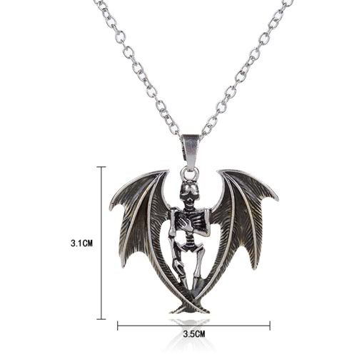 Fashion Men Jewelry Glowing Skull Wing Pendant Cool Personality Style Various Colors NecklaceApparel &amp; Jewelry<br>Fashion Men Jewelry Glowing Skull Wing Pendant Cool Personality Style Various Colors Necklace<br>
