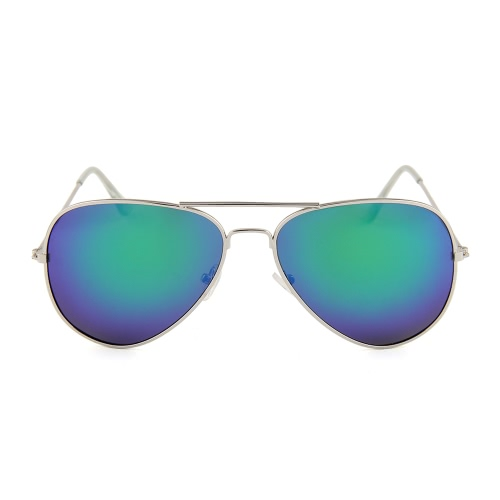 Модные стильные солнцезащитные очки Авиатора Поляризованная металлическая рамка Цветная пленка UV400 Солнцезащитные очки для мужчин
