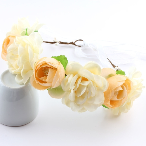 Beautiful Bohemia Flower Crown Garland Women Baby Diadem Beach Wedding Banquet Festival WreathApparel &amp; Jewelry<br>Beautiful Bohemia Flower Crown Garland Women Baby Diadem Beach Wedding Banquet Festival Wreath<br>