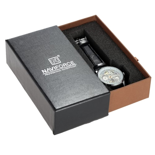 Naviforce Execellent Beautiful Sturdy Slide-drawer Watch Case Elegant Gift Box Multifunctional Storage BoxApparel &amp; Jewelry<br>Naviforce Execellent Beautiful Sturdy Slide-drawer Watch Case Elegant Gift Box Multifunctional Storage Box<br>