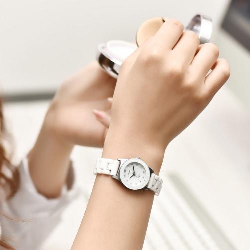 LONGBO 3ATM Water Resistant Woman Man Analog Quartz Watch Trendy Luxury Ceramic WristwatchApparel &amp; Jewelry<br>LONGBO 3ATM Water Resistant Woman Man Analog Quartz Watch Trendy Luxury Ceramic Wristwatch<br>