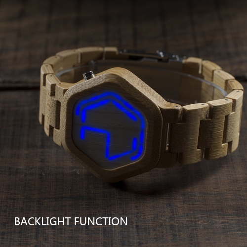 BOBOBIRD Fashion Casual Bamboo Watch Unisex Quartz Watch Backlight Wristwatch Men Women Relogio Musculino FemininoApparel &amp; Jewelry<br>BOBOBIRD Fashion Casual Bamboo Watch Unisex Quartz Watch Backlight Wristwatch Men Women Relogio Musculino Feminino<br>