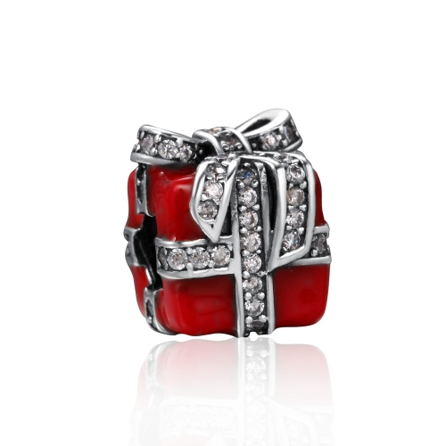 Romacci S925 Sterling Silver Puppy Electroplated Bead Enameled Red for 3mm Lucky Charm Bracelet DIYApparel &amp; Jewelry<br>Romacci S925 Sterling Silver Puppy Electroplated Bead Enameled Red for 3mm Lucky Charm Bracelet DIY<br>