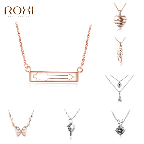 ROXI Rose Gold Plated Women Fashion Arrow Charm Pendant Necklace Girl Bride Wedding Jewelry Accessory GiftApparel &amp; Jewelry<br>ROXI Rose Gold Plated Women Fashion Arrow Charm Pendant Necklace Girl Bride Wedding Jewelry Accessory Gift<br>