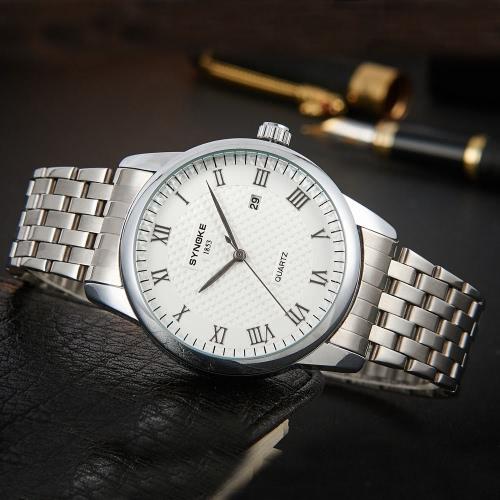 SYNOKE Classic Business Men Wristwatch 3ATM Water-resistantApparel &amp; Jewelry<br>SYNOKE Classic Business Men Wristwatch 3ATM Water-resistant<br>